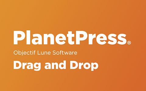 Drag and Drop in PlanetPress
